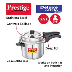 Prestige Deluxe Plus 3 Ltr Pressure Cooker