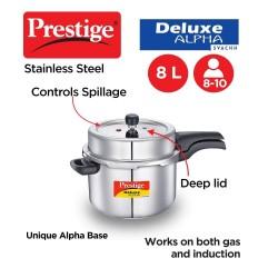 Prestige Deluxe Plus 10 Ltr Pressure Cooker